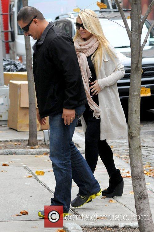 Jessica Simpson and Manhattan Hotel 4