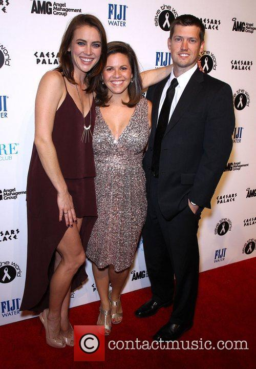 Jessica Stroup and Guests Jessica Stroup celebrates her...