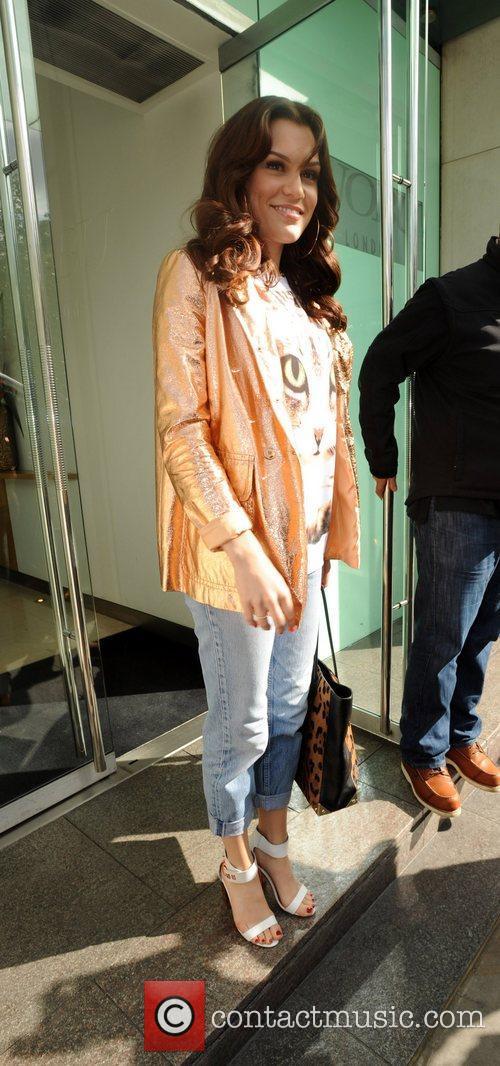 Jessie J aka Jessica Cornish leaving Nobu restaurant...