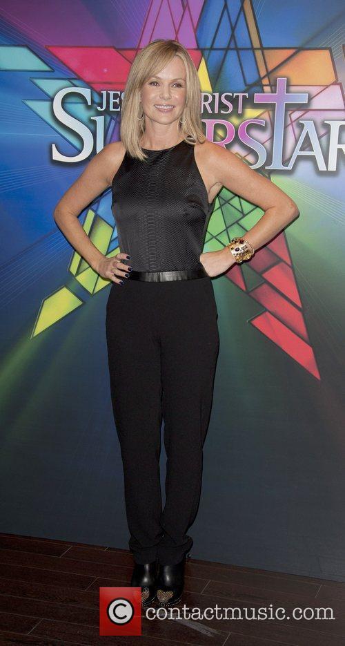 Amanda Holden Opening night of 'Jesus Christ Superstar'...