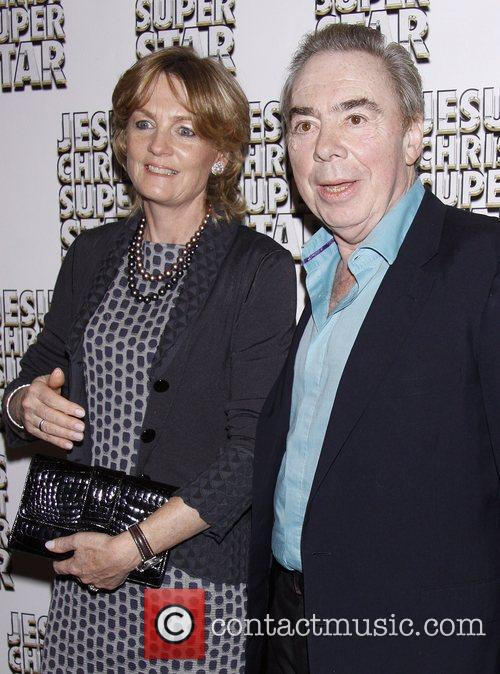 Madeleine Gurdon and Andrew Lloyd Webber Broadway opening...