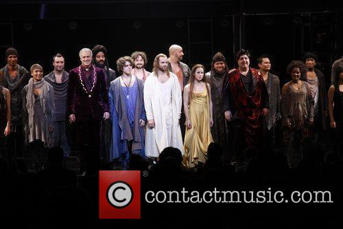 Broadway opening night of 'Jesus Christ Superstar' at...