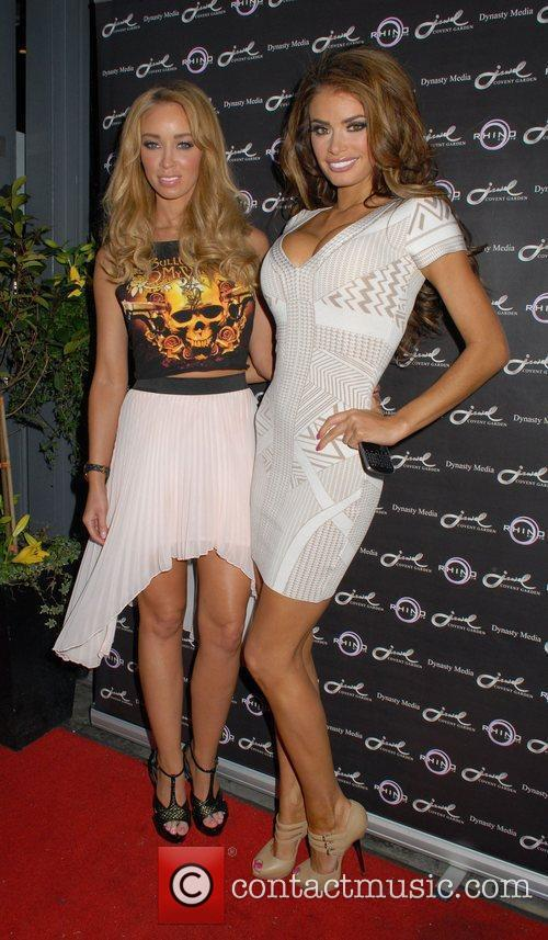 Lauren Pope, Chloe Sims and Jewel Bar 2