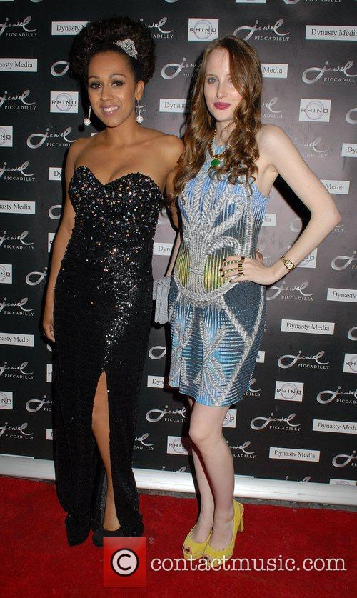 Danielle Brown and Rosie Fortescue  at Jewel...