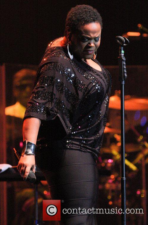 Jill Scott performs live at the Seminole Hard...