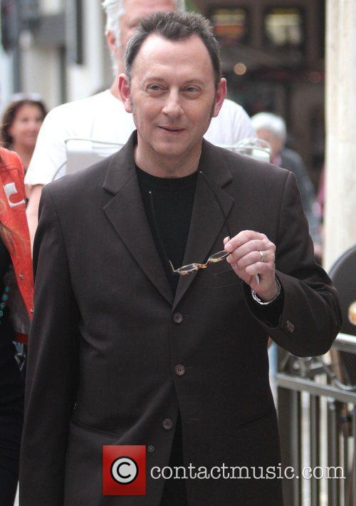 Michael Emerson at The Grove for TV show...