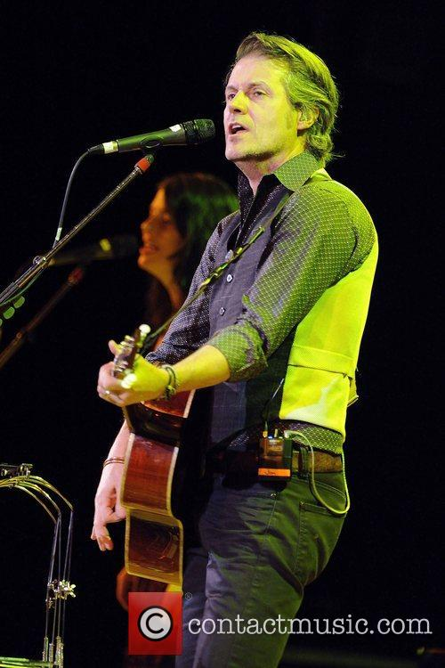 Performs live on stage with The Jim Cuddy...