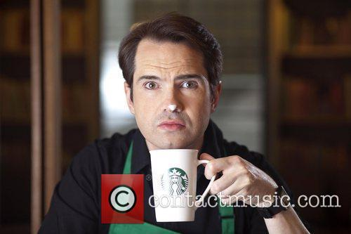Jimmy Carr  launches new stronger British Latte...