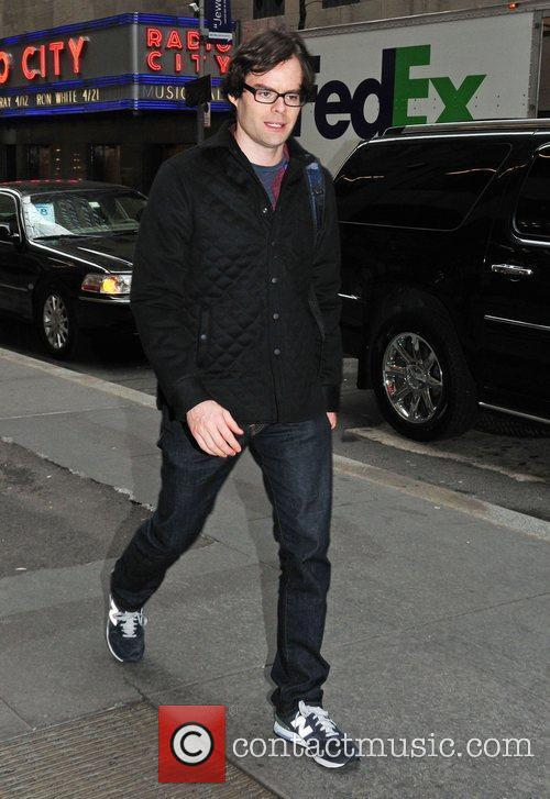 bill hader celebrities outside the nbc studios 3755240