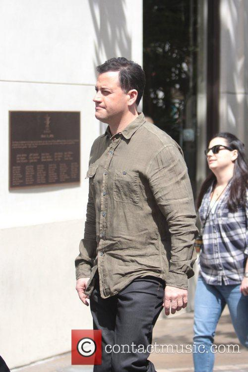 TV personality Jimmy Kimmel is seen at The...