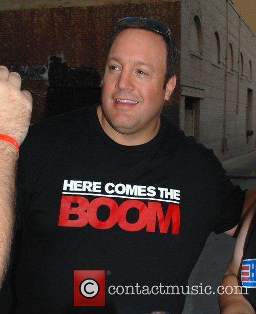 kevin james outside abcs jimmy kimmel live 4103890