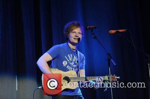 ed sheeran performing at the key 103 3636178