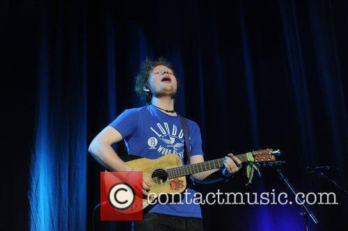 ed sheeran performing at the key 103 3636179