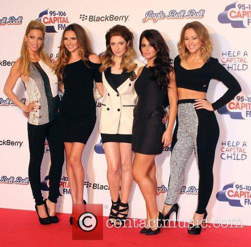 Sarah Harding, Nadine Coyle, Nicola Roberts, Cheryl Cole, Kimberly Walsh and Girls Aloud 12