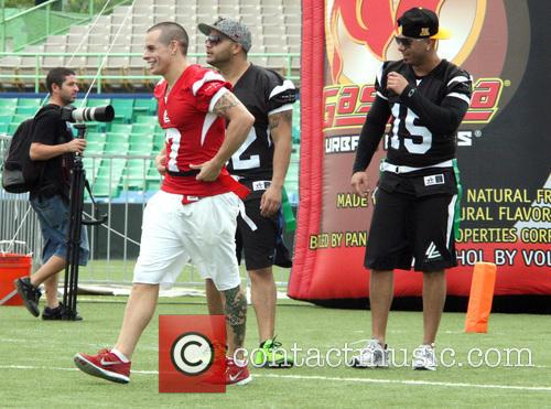 Casper Smart, Juan Luis Morera Luna and Wisin 3
