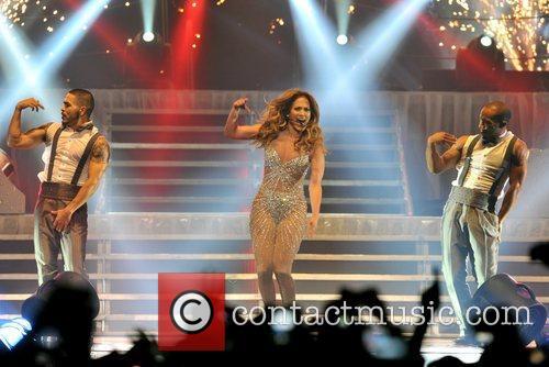 Jennifer Lopez and O2 Arena 8