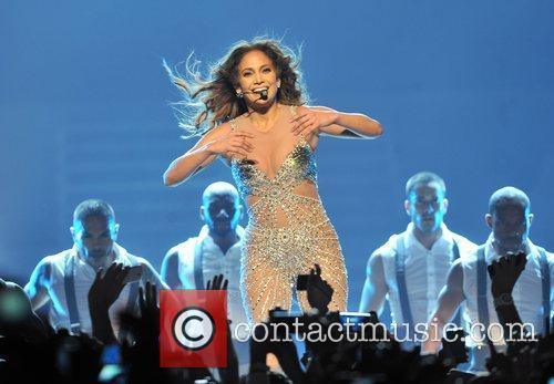 Jennifer Lopez and O2 Arena 5
