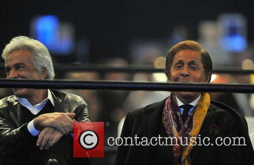 Valentino Garavani and Carlo Giamatti Jennifer Lopez performs...