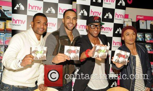 J, B, Jonathan Gill, Marvin Humes, Oritse Williams and Aston Merrygold 4