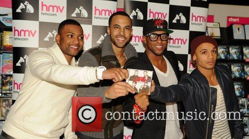 J, B, Jonathan Gill, Marvin Humes, Oritse Williams and Aston Merrygold 2