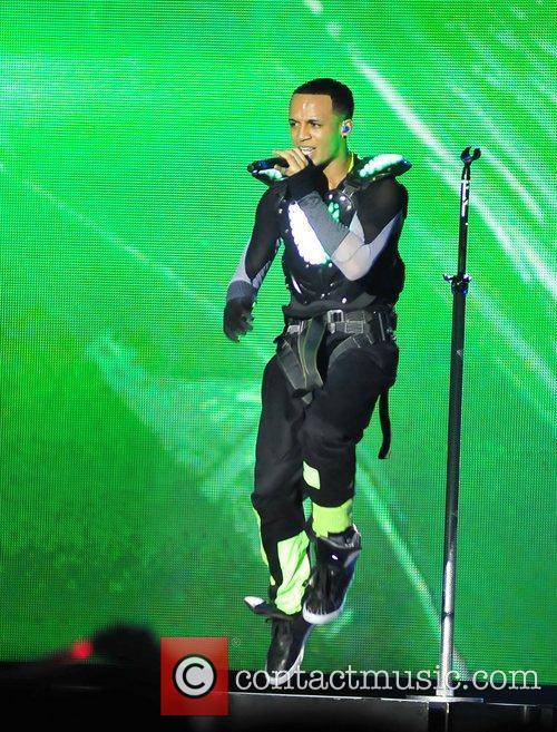 Aston Merrygold and Liverpool Echo Arena 2