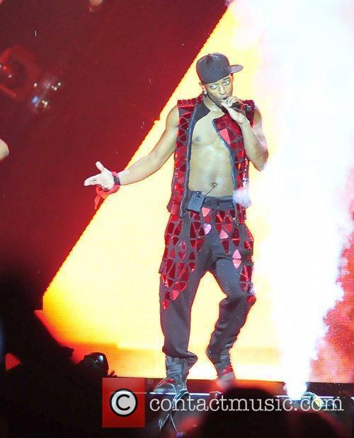 Aston Merrygold and Liverpool Echo Arena 3