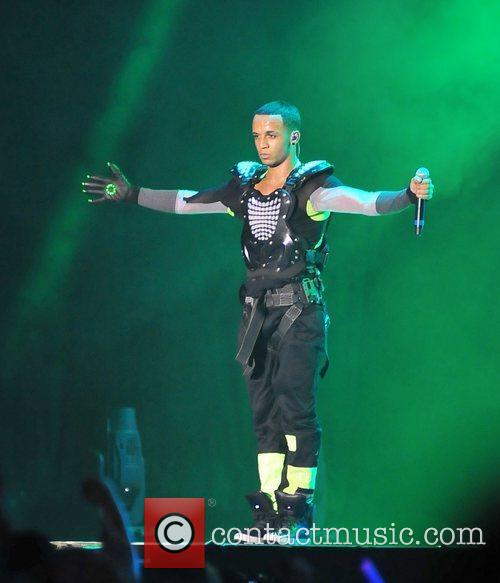 Aston Merrygold and Liverpool Echo Arena 4