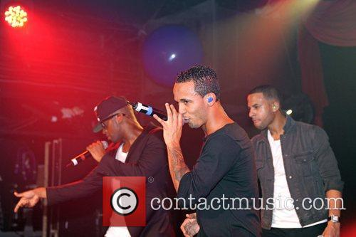 JLS  performs at G-A-Y London