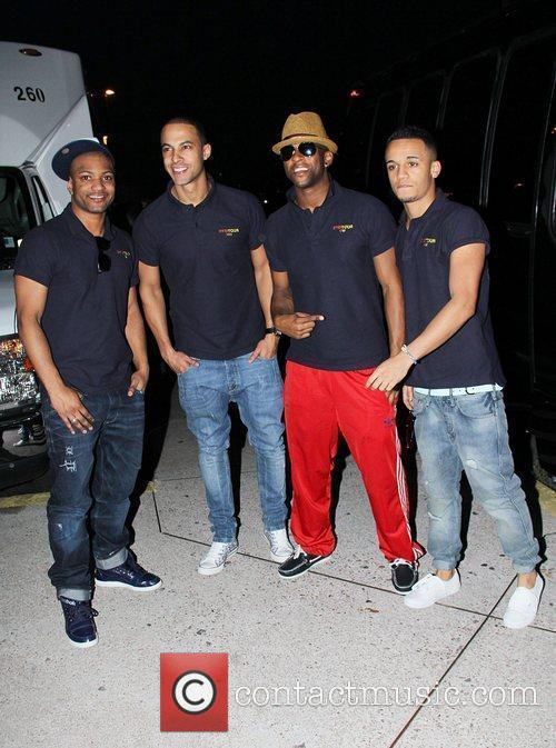 Jonathan 'GB' Gill, Marvin Hume, Oritse Williams and...