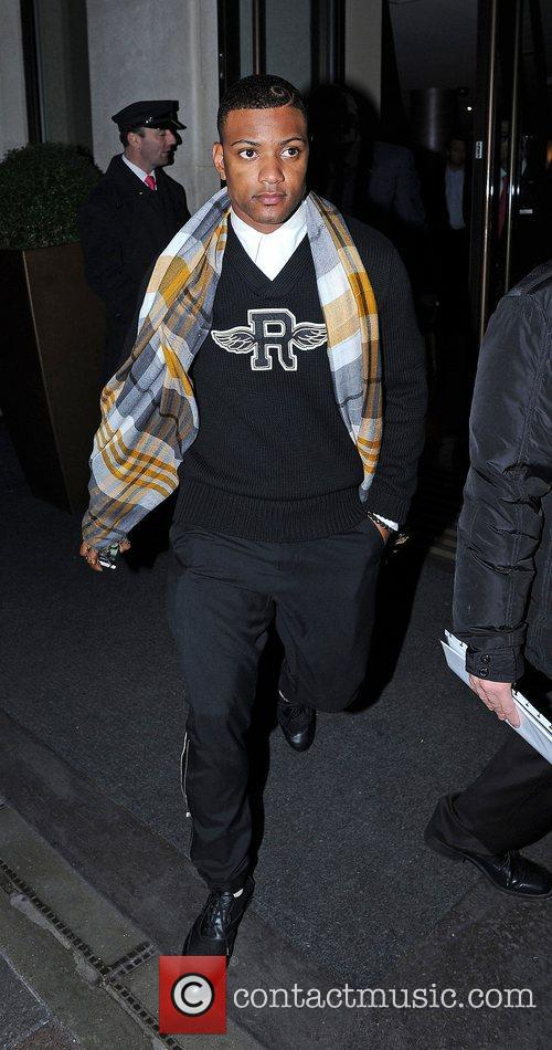 Jonathan 'JB' Gill  of JLS leaves the...