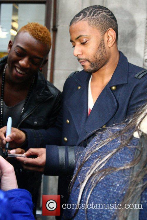 oritse williams and jonathan gill from jls 3691186