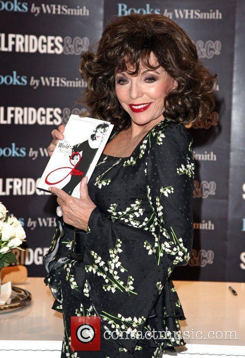 Joan Collins and Selfridges 3