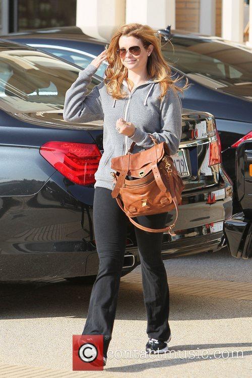 JoAnna Garcia leaving Barneys of New York in...