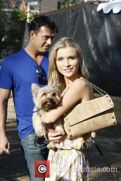 Joanna Krupa, Romain Zago and Yorkshire 6