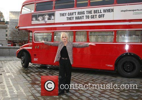 Joanna Lumley launches the Compassions 2012 campaign in...
