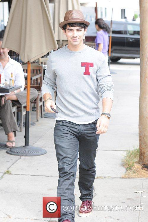Joe Jonas is seen out and about after...