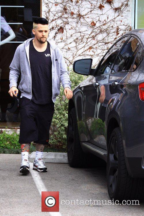 Joel Madden out and about in Beverly Hills...