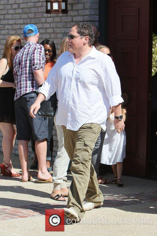 jon favreau at joel silvers memorial day 3913993
