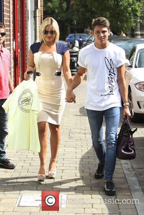 Joey Essex and Sam Faiers out and about...