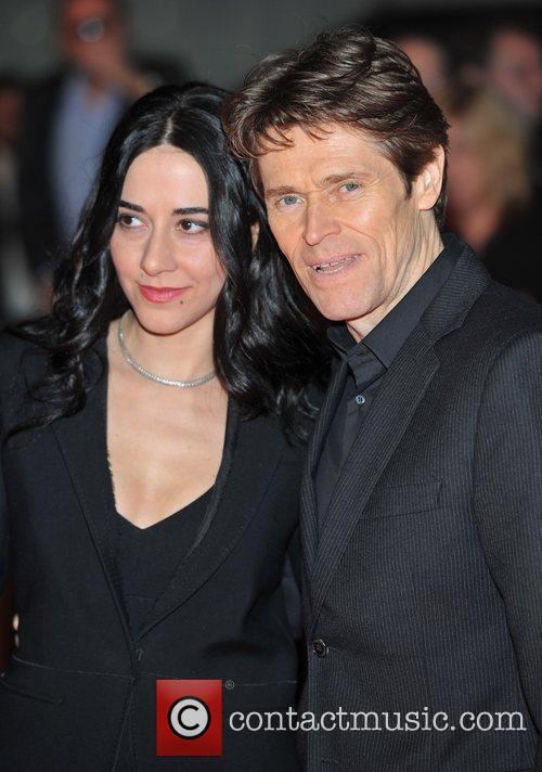 Willem Dafoe and guest John Carter film premiere...