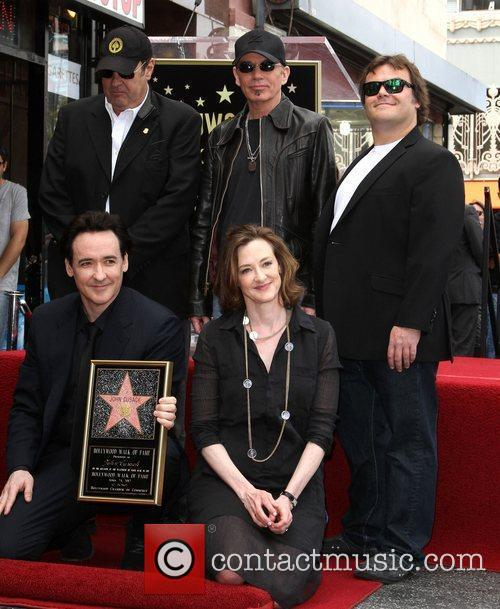 Dan Aykroyd, Billy Bob Thornton, Jack Black, Joan Cusack, John Cusack and Star On The Hollywood Walk Of Fame 2