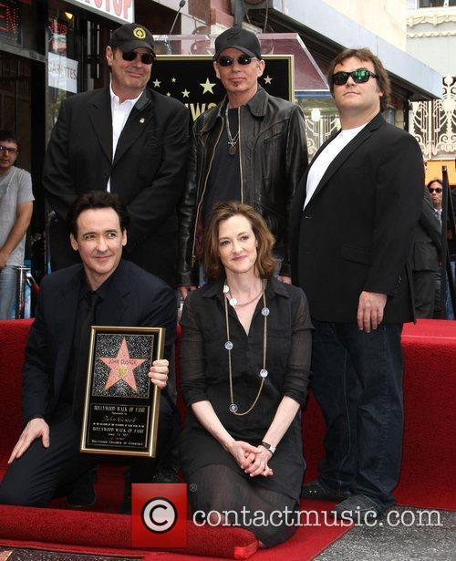 Dan Aykroyd, Billy Bob Thornton, Jack Black, Joan Cusack, John Cusack and Star On The Hollywood Walk Of Fame 1