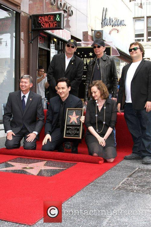 Dan Aykroyd, Billy Bob Thornton, Jack Black, Joan Cusack, John Cusack and Star On The Hollywood Walk Of Fame 3