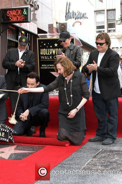 Dan Aykroyd, Billy Bob Thornton, Jack Black, Joan Cusack, John Cusack and Star On The Hollywood Walk Of Fame 4