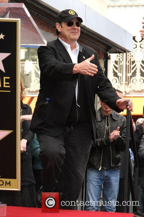 Dan Aykroyd and Star On The Hollywood Walk Of Fame 7