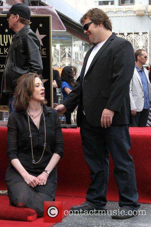 Jack Black, Joan Cusack, Star On The Hollywood Walk Of Fame
