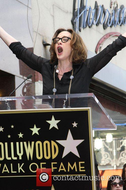 Joan Cusack and Star On The Hollywood Walk Of Fame 3