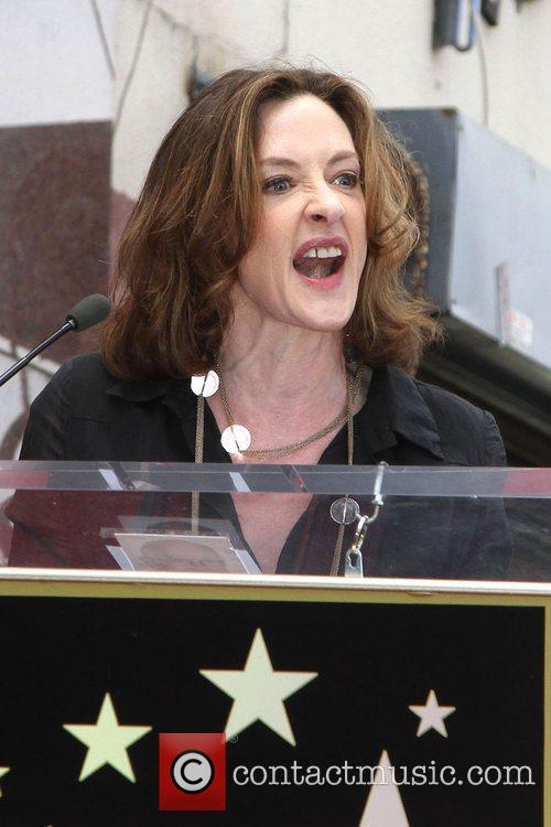 Joan Cusack and Star On The Hollywood Walk Of Fame 1