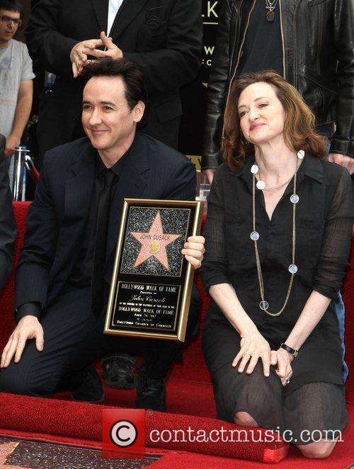 John Cusack, Joan Cusack and Star On The Hollywood Walk Of Fame 4