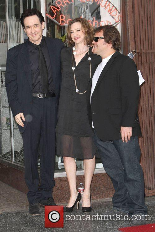 John Cusack, Jack Black, Joan Cusack and Star On The Hollywood Walk Of Fame 3